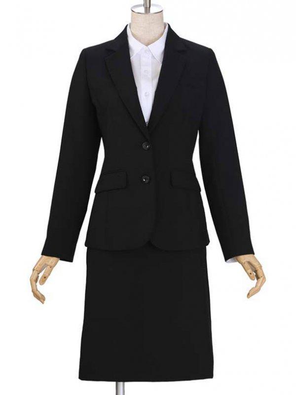 レディーススーツ/ブラック