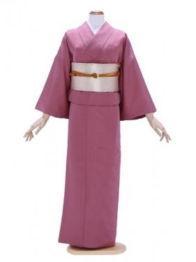 色無地3紫ピンク