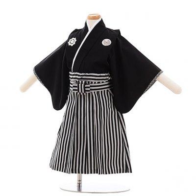 男児ベビー袴 0033 ジャパンスタイル 黒紋付