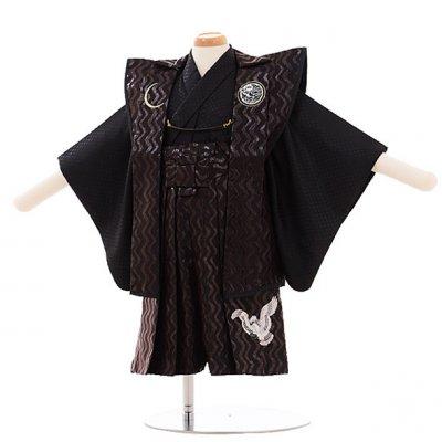 男児ベビー着物 0004 ジャパンスタイル 黒/袴