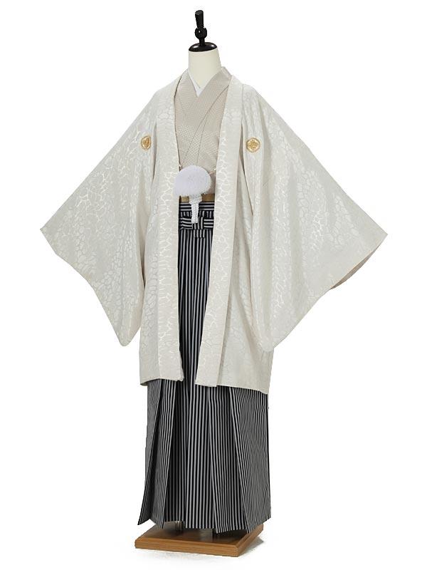 男性用袴0012 白紋付
