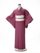 色無地レンタル ADDT101紫色/小さいサイズ