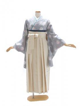 女性袴860/グレー桜日記