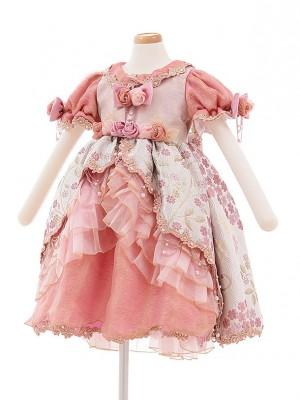 子どもドレス 5014 ピンクバラ