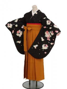 卒業袴レンタル h050黒