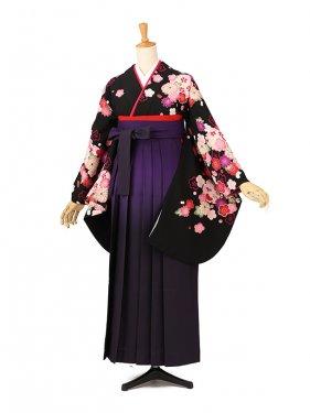 卒業袴レンタル A181黒
