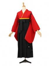 卒業袴レンタル A053赤