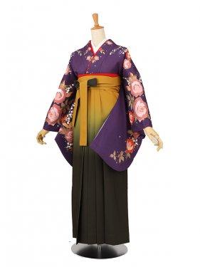卒業袴レンタル A103紫
