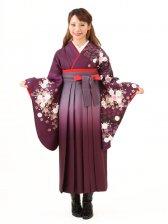 卒業袴レンタル A117紫