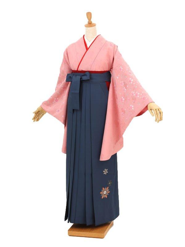 卒業袴レンタル A106ピンク