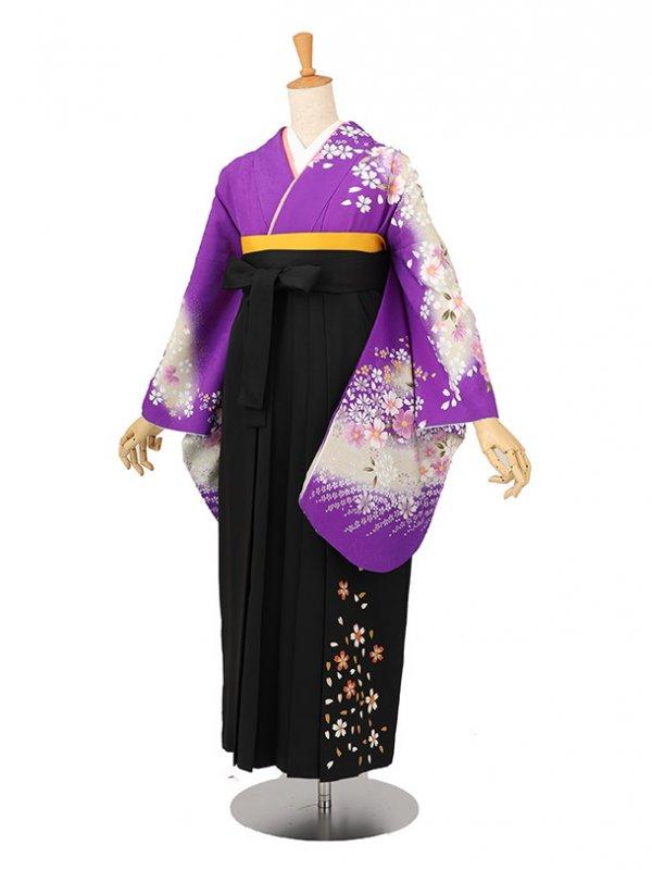 卒業袴レンタル A110紫
