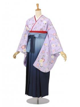 卒業袴レンタル A132薄紫