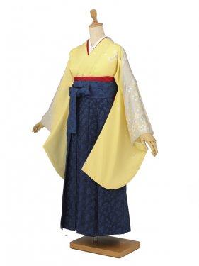 卒業袴レンタル A072黄色