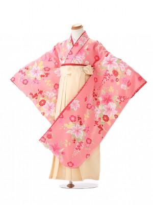 卒園式 ジュニア袴(女の子) 松田聖子 古典ピンク 7150