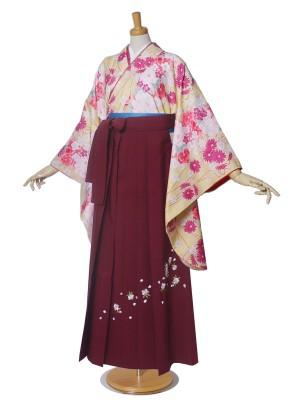 袴 女性 二尺袖 Mサイズ