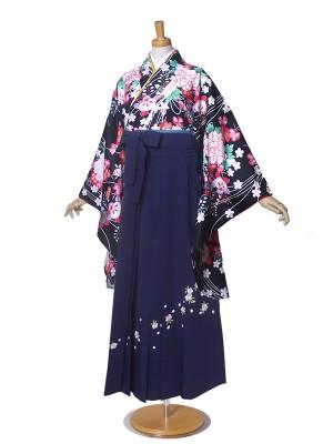 袴 女性 二尺袖 Mサイズ H・Lアッシュエル