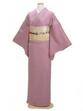 色無地 袷 10月~5月 紫色 0063