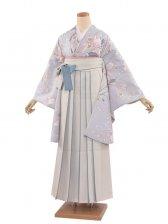 女袴(8361)赤縞/緑袴87