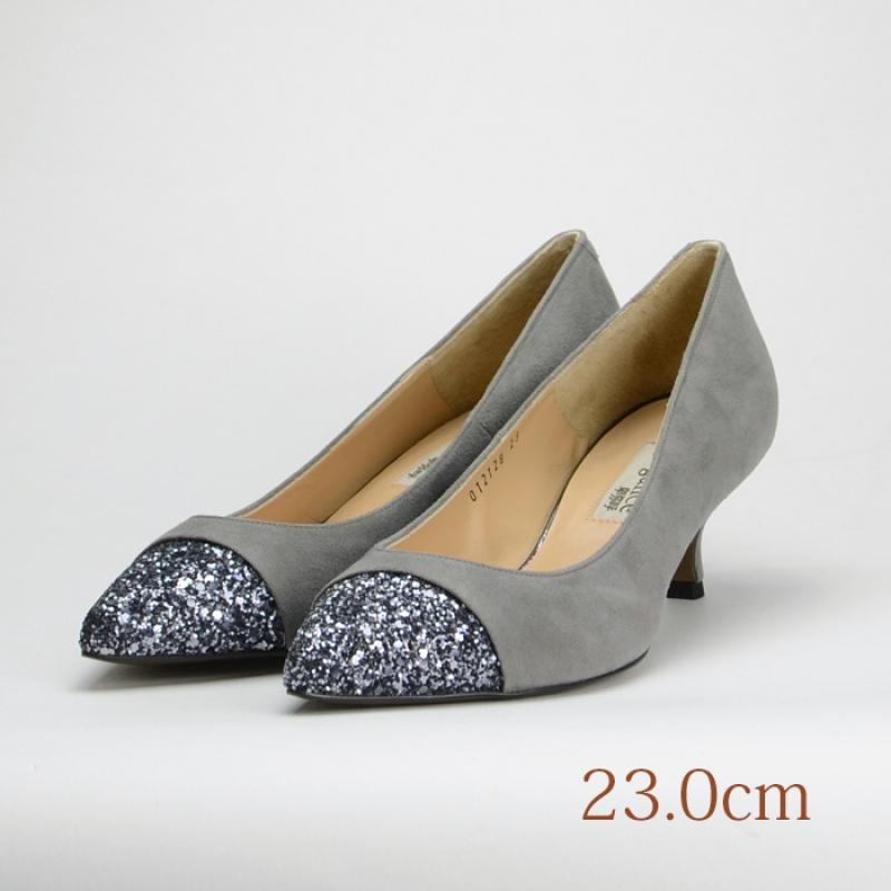 23.0 elegance himiko 5cmヒール グレー