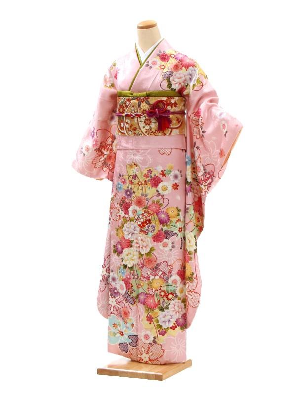 振袖6AC0425/成人式等(ピンク系)