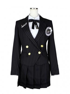 [女児スーツ]ダブルジャケット/プリーツミニスカート