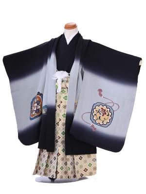 【正絹】七五三レンタル(5歳男袴)Z015