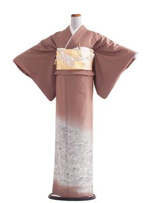 色留袖 22 染殿織美術品/古都染人