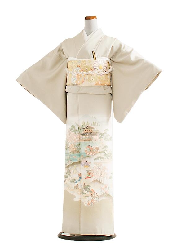 色留袖 23 ライトグレー/平安絵巻