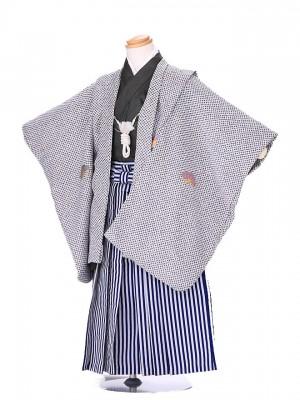 3歳 男袴 (七五三レンタル)G168 白