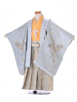 3歳 男袴 (七五三レンタル)G152 白