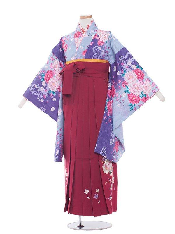 ジュニア(13女)jh1324紫花/ワイン
