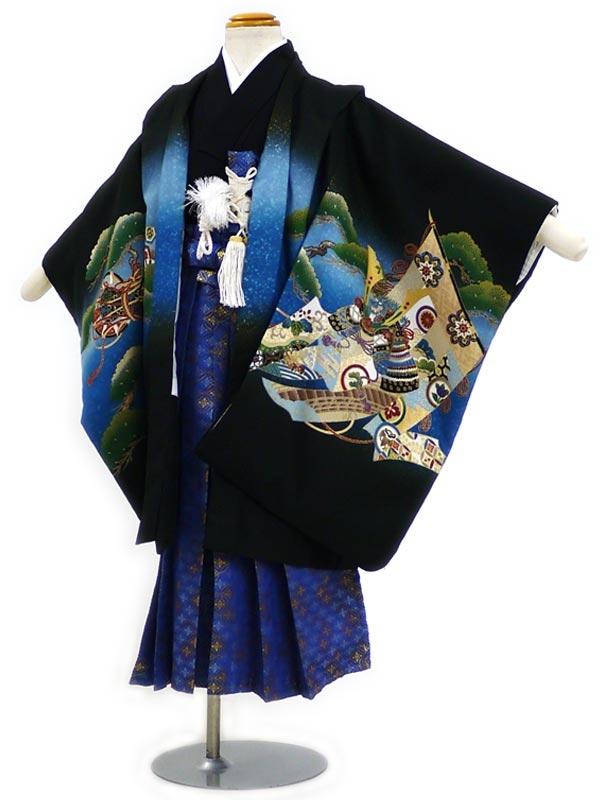 753レンタル(5歳袴)FF162黒松にこづちタカ